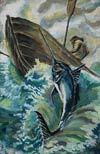 'Fish of my dream', Ilya Mishev, 14 years, (teacher T.A.Vinogradskaya), Abakan (Khakassia)