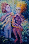 'Dreams of the sea prince', Tatyana Fuks, 13 years, (teacher V.N.Pogorilyy), Severodonetsk