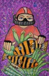 'Lucky find', Viktoria Dembrovskaya, 13 years, (teacher E.E.Marchuk), Gorodok